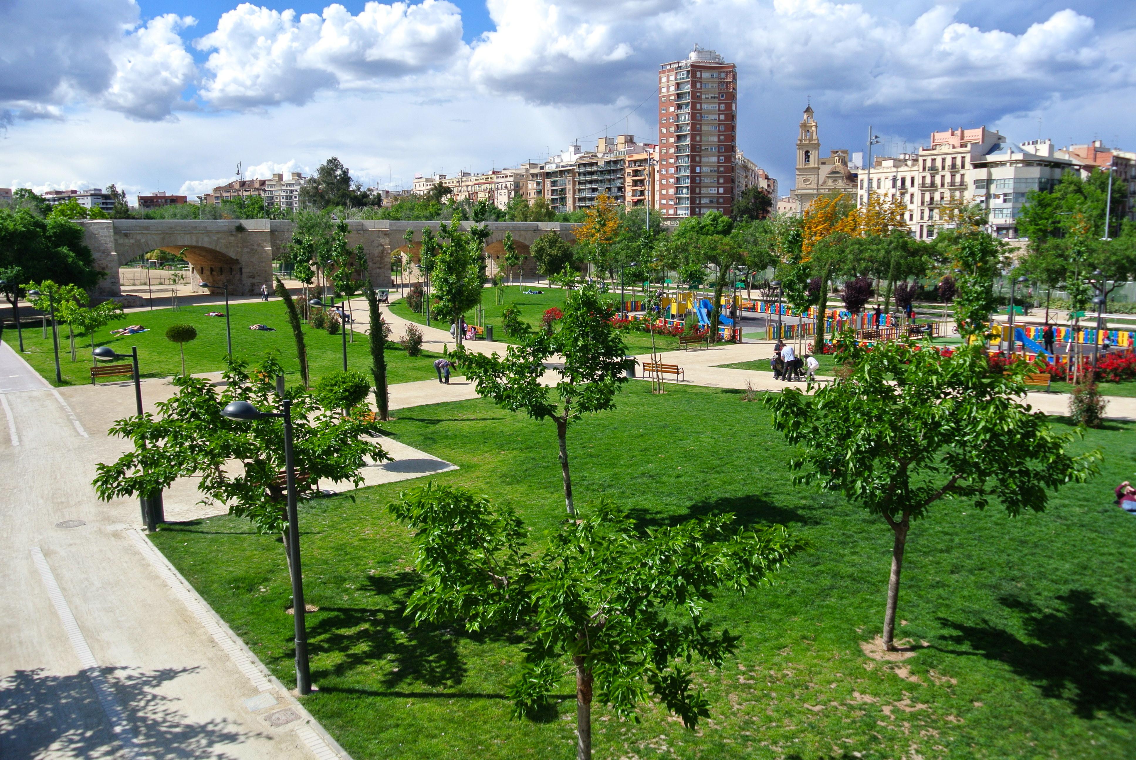 Parken in valencia turia park jard n bot nico - Jardin del turia valencia ...